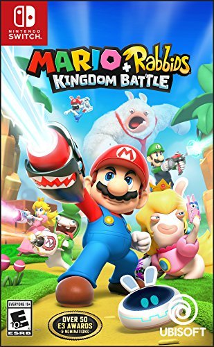 Our #5 Pick is the Mario + Rabbids Kingdom Battle