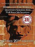 Heard on the Street: Quantitative Questions from Wall Street Job Interviews (HOTS20)