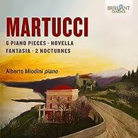 MARTUCCI, G/ PIANO MUSIC