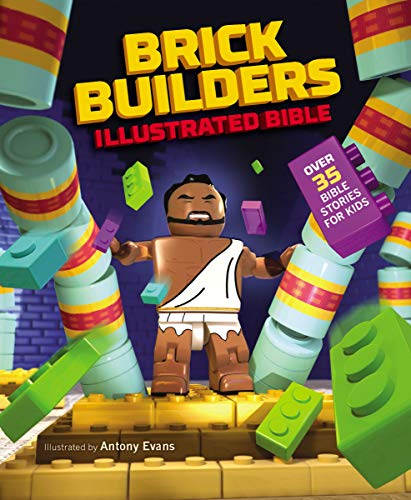 Brick Builder's Illustrated Bible: Over 35 Bible stories for kids (Zondervan)