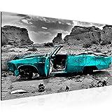 Wandbilder Auto Grand Canyon 1 Teilig Modern Vlies Leinwand
