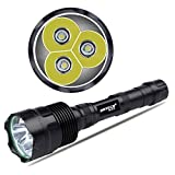 NKTECH Super Bright NK-3XT6 3800 Lumens 3 x CREE XM-L T6 LED Flashlight Torch 5 Models