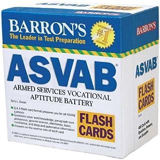 Barron's ASVAB Flash Cards