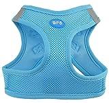 BPS® Arnés para Perros Mascotas Callar para Perros Mascotas 5 Tamaños para Elegir para Perro pequeño Mediano y Grande (Azul, XS) BPS-3857A