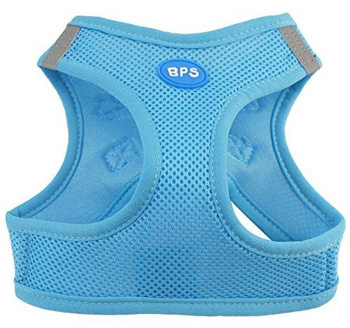 BPS® Hundegeschirr für Hunde, Haustiere, für kleine, mittelgroße und große Hunde, blau, XS