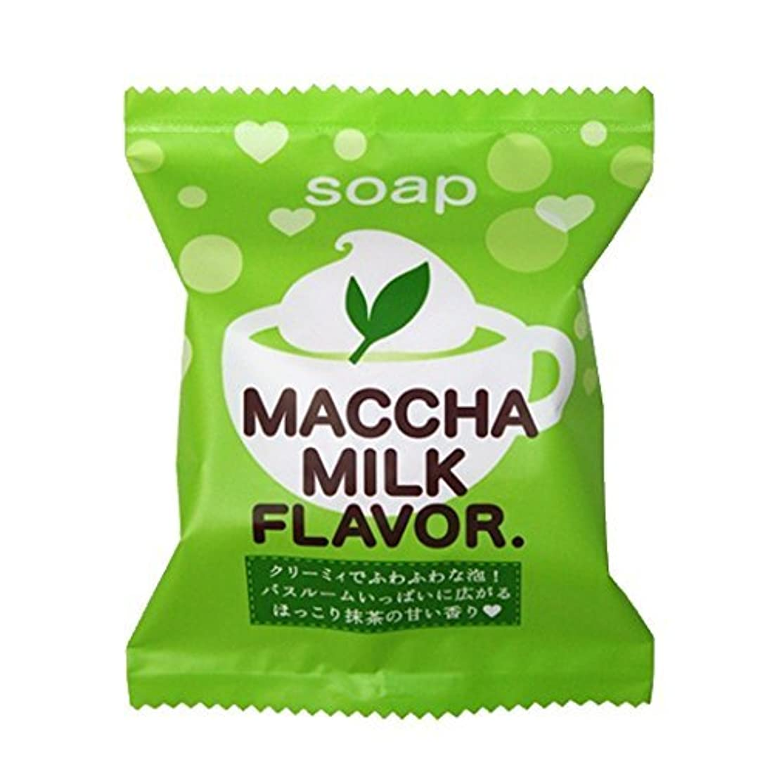 毛布つかまえる提供プチベリィ ソープ 抹茶みるくの香り 80g