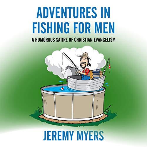 Adventures in Fishing for Men audiobook cover art