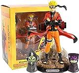 Gddg 22 cm Narutos Shippuden GK Figura de acción Anime Uzumaki-Narutos Sennin Modelo VS PVC PVC Estatua Coleccionable Juguete