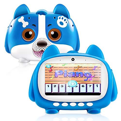 HOPLAZA Kinder Tablet, 7 Zoll IPS-Touchscreen Tablet für Kinder Dual MIC 1 GB Ram 16 GB Rom WiFi, Bluetooth Kindertablet Quad Core Android mit Stift