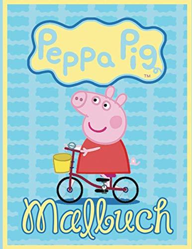 Peppa pig malbuch: Ein faszinierendes Malbuch zum Entspannen und Stressabbau durch Ausmalen von Abbildungen von Peppa Pig   JUMBO Malbuch für Kinder   ... Peppa Pig Zeichnungen zum Ausmalen!