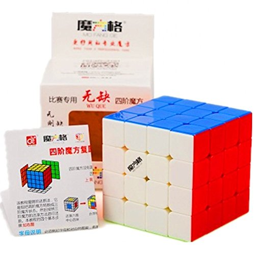 Cuberspeed New Batch Qiyi WuQue 4x4 Stickerless Speed Cube MoFangGe Wuque 4x4x4 Magic Cube