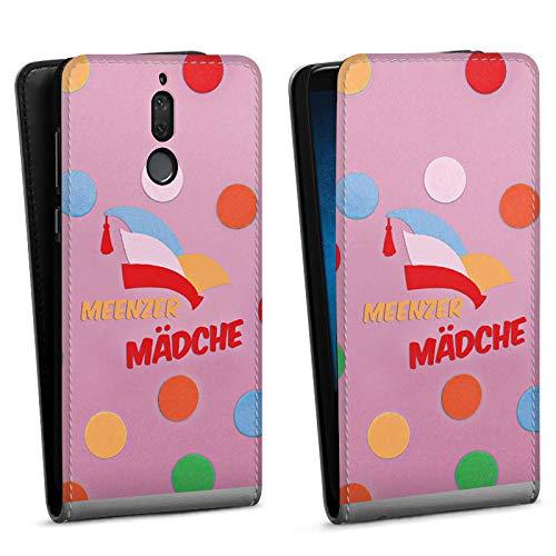 DeinDesign Flip Case kompatibel mit Huawei Mate 10 lite Tasche Hülle Fastnacht Karneval narrenkappe