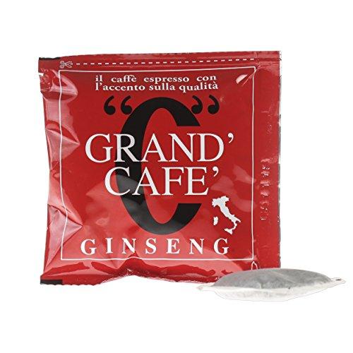 Caffè Bicau Ginseng Kaffee Mischung 50 Kaffeepads, 1er Pack (1 x 350 g)
