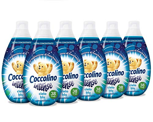 Coccolino Intense Cielo Blu - Pacco da 6 x 570 ml - Totale: 3420 ml