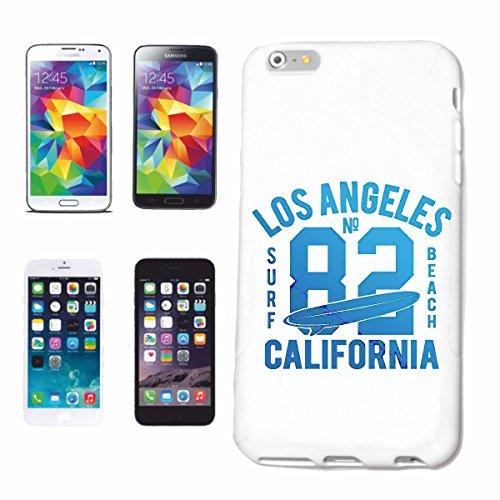 Reifen-Markt Hard Cover - Funda para teléfono móvil Compatible con Samsung Galaxy S6 Los Ángeles, California Surf Beach Tablas DE Surf Las Ondas DE Longboard Begin