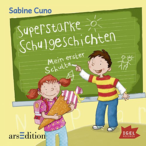 Superstarke Schulgeschichten cover art