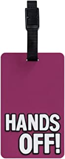 TangoTag Hands Off! Luggage Tag Pink, Htc-Tt818