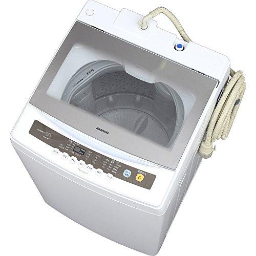 アイリスオーヤマ 全自動洗濯機 8kg 簡易乾燥機能付きIAW-T801