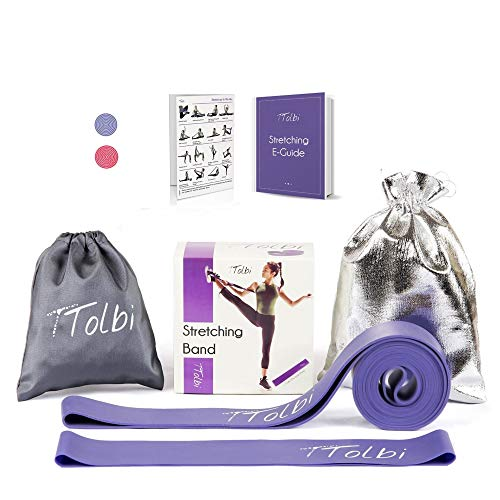 TTolbi Dance Equipment : Stretch Bands for Dancers and Ballet   Dance Stretch Bands for Flexibility, Mobility and Strength   Dance Stuff   Gymnastics Stuff   Dance Accesories