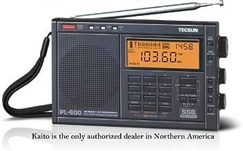Tecsun PL-600 AM/FM/LW SSB Shortwave Radio, Black