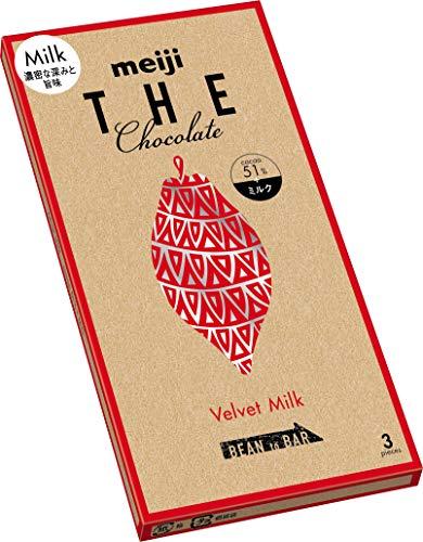 明治 明治ザ・チョコレート濃密な深みと旨みベルベットミルク 50g×10箱