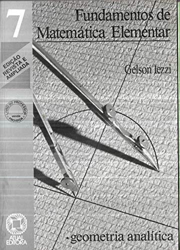 Fundamentos De Matematica Elementar - V. 07