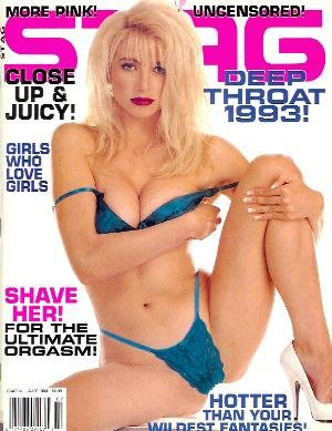 Stag Magazine - July 1993: Hot Women, Lesbians, Big Boobs & More