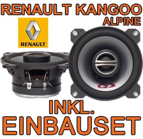 Lautsprecher - Alpine SPG-10C2-10cm Koax-System für Renault Kangoo 1 - JUST SOUND best choice for caraudio