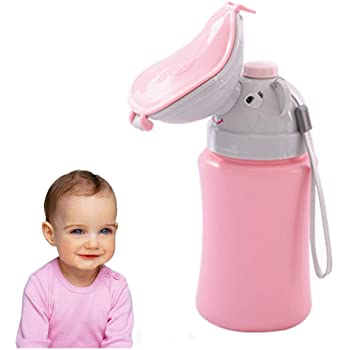 Tocypho Baby Girls Child Kids Portable Emergency Urinal Potty Pee Pee Training Cup for Car Travel Camping