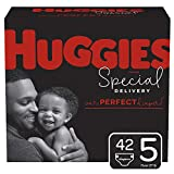 Huggies Special Delivery Hypoallergenic Diapers, Size 5 (27+ lb.), 42 Ct, Giga Jr. Pack