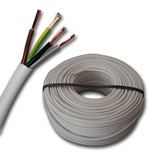 Manguera de conexión - H03VV - F 4G0, 75 mm² 4 x...