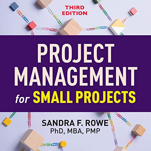 Project Management for Small Projects, Third Edition Titelbild