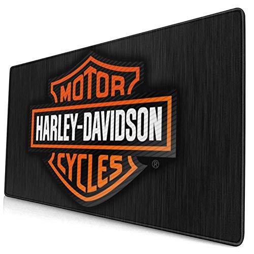 Tappetino Mouse Grande Harley Davidson Tappetino per Mouse da Gioco Resistente All'acqua con Superficie Liscia Base 800X300X3 mm