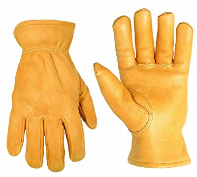 Custom Leathercraft Top Grain Deerskin Drivers Gloves