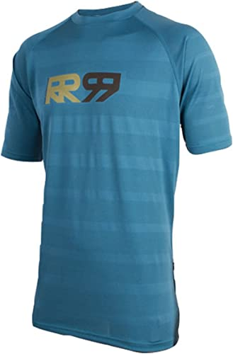 Royal Racing Maillot Impact Manches Courtes-Bleu Diesel Homme, FR   S (Taille Fabricant   S)