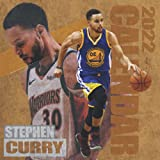 Stephen Curry Calendar 2022: Stephen Curry 2022 Planner with Monthly Tabs and Notes Section, Stephen Curry Monthly Square Calendar with 18 Exclusive Photos