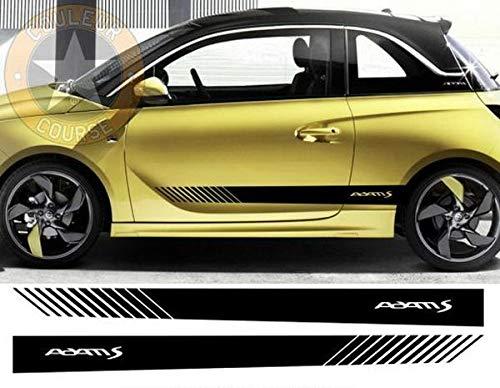 test Die Myrockshirt-Seitenstreifen sind an beiden Seiten des Opel Adam S ca. 180 cm angebracht… Deutschland