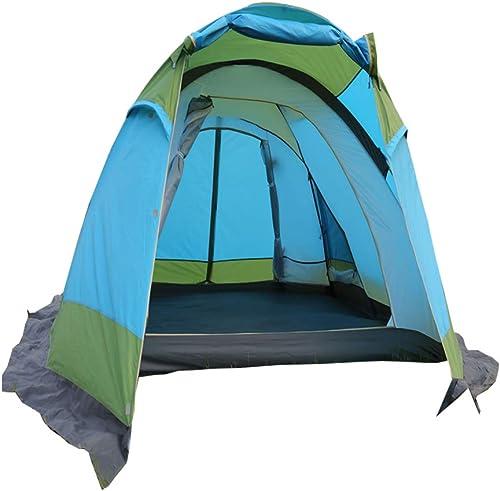 VATHJ Tente de Camping en Aluminium Professionnel Tente de Camping en Aluminium Tente de Camping Tente en Forme de Pluie étanche