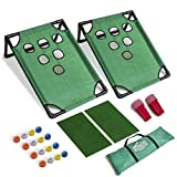 Party, Golf, and Have a Blast – Far more than a traditional beer pong table this golf beer pong set lets you line up your shots using your favorite golf club (not included) and sink those chips that make your friends like up and enjoy the good times....