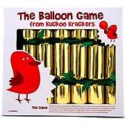 6 Balloon Game Christmas Crackers