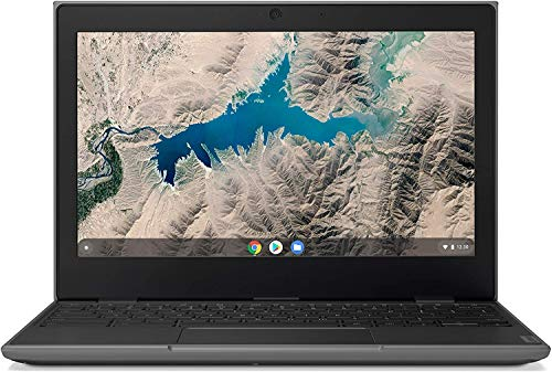 2020 Lenovo 100E 2nd Gen Chromebook 11.6' Laptop Computer for Business and Student, 11.6' HD (1366 X 768) LCD, AMD Dual Core A4-9120c, 4GB RAM, 32GB eMMC, Chrome OS w/ CUE Accessories