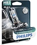 Philips X-tremeVision Pro150 HB3 bombilla faros delanteros +150%, blister individual