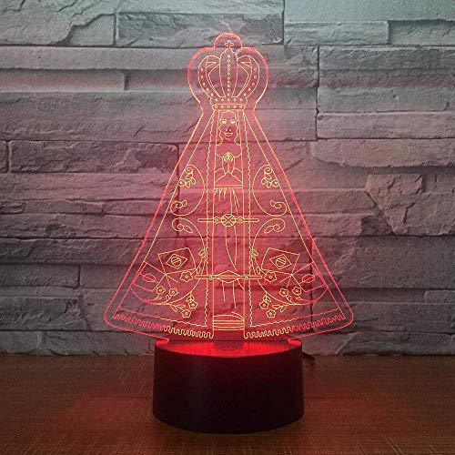 3D-illusielamp, magische tent, nachtlampje voor kinderen 3D illusie nachtlampglijden, optische lichten, kerstcadeaus, Halloweengeschenken, verjaardagscadeaus.