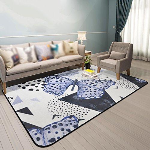 Creative Light Modern Living Room Tapis Canapé Table à café Mats Chambre Rectangle de Chevet Tapis de Maison (Taille : 190cm*280cm)