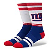 Stance NFL New York Giants Logo Calcetines Blanco M