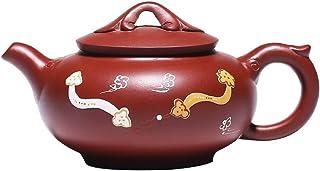 XLQC Clear Sand Pot Shadow Teapot Pot Original Mine Wishful Hand-painted Kung Fu Tea Set Teapot (Color : Photonics)