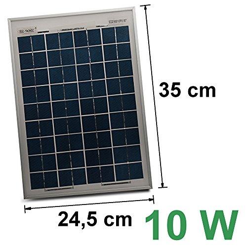 12V Solarmodul 10W Solarpanel Solarzelle Polykristallin Photovoltaik Solar Modul