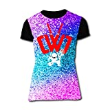 FAAVC Chad Wild Clay Short Sleeve Crewneck T Shirt Casual T-Shirt for Women Girls S