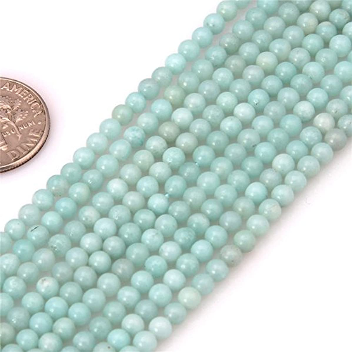 Amazonite Seed Beads for Jewelry Making Natural Gemstone Semi Precious 3mm Round 15