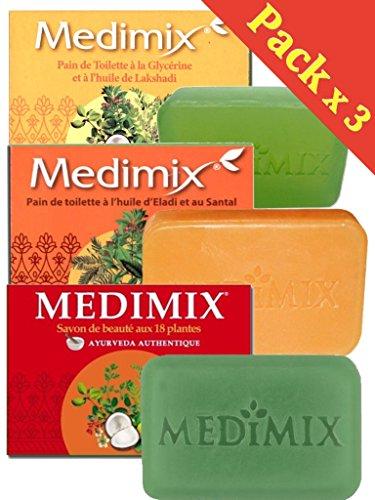 Medimix Seife ayurvedique - Huile d eladi und im Sandelholz + Seife...